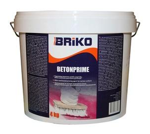 Neįgeriančių paviršių gruntas Briko Betonprime, 4 kg