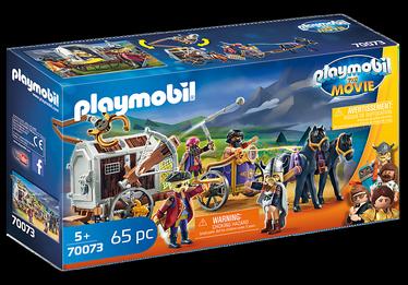 Konstruktorius Playmobil Movie 70073 charlie ir kalinių vagonas