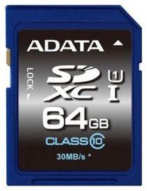 Adata 64GB SDXC Premier UHS-I U1 Class 10