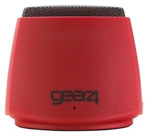 Belaidė kolonėlė Gear4 Pocket Party Red, 3 W