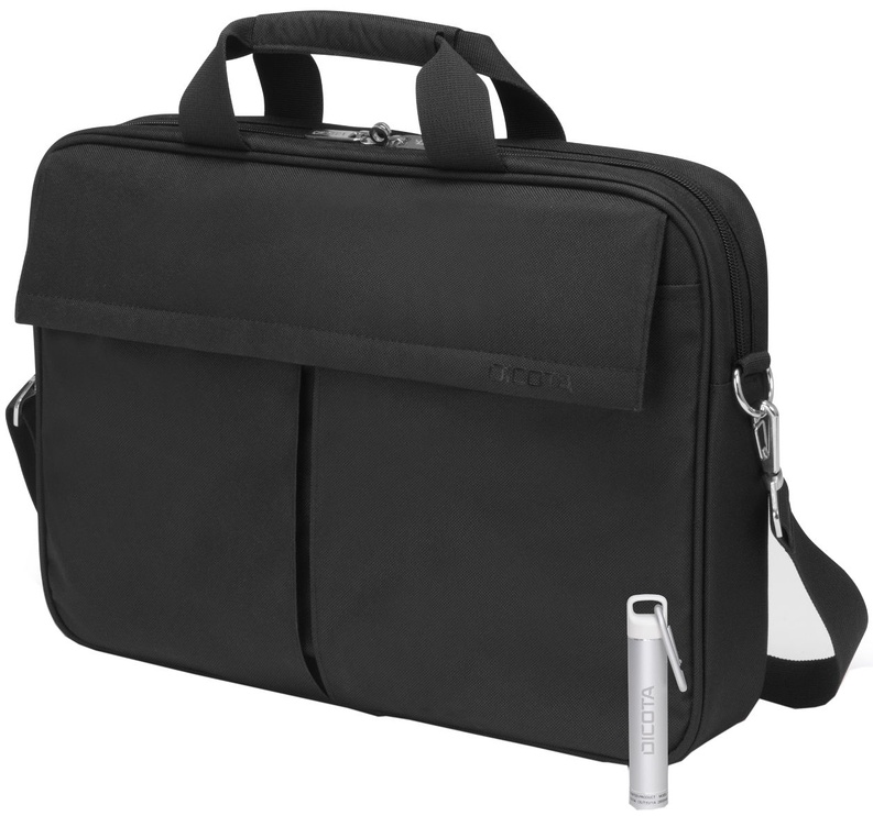 Dicota Toploader Notebook Bag + Power Bank 14-16.6 Black