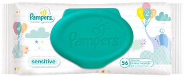 Pampers Sensitive Wipes 56pcs