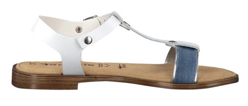 Basutės, Tamaris Sera Sandal, White Jeans, 39