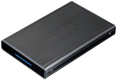 "Akasa External Enclosure Noir S USB 3.0 2.5"" HDD/SSD Black"
