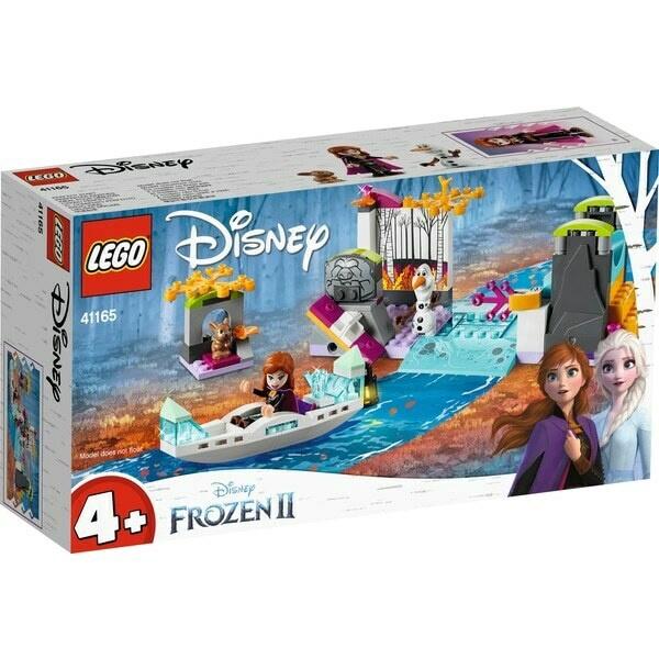 Конструктор LEGO Disney Annas Canoe Expedition 41165 41165, 108 шт.