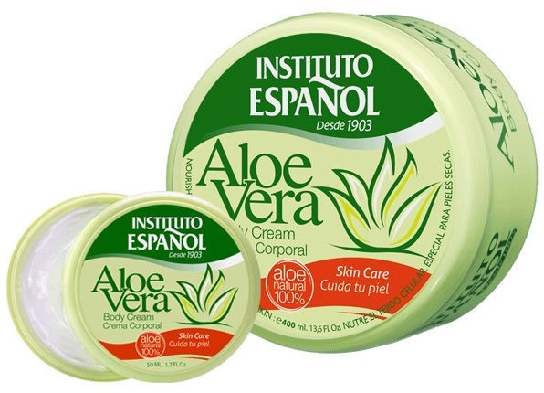 Крем для тела Instituto Español Aloe Vera, 50 мл