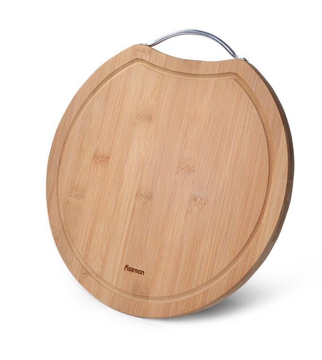 Pjaustymo lentelė Fissman Bamboo, ruda, 300x300 mm