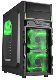 Sharkoon VG5-W Mid-Tower Green