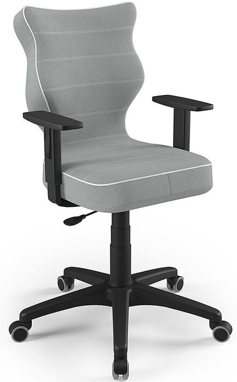 Детский стул Entelo Duo Size 5 JS03, черный/серый, 375 мм x 1000 мм