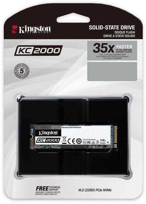 Kingston KC2000 NVMe PCIe SSD 2TB