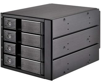 "SilverStone Hot Swap Case FS304 3x 5.25"" For 4x 3.5"" HDD/SSD"