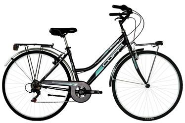 Coppi City Bike Lady 28'' 43 Black