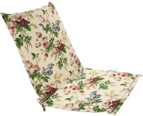 Home4you Chair Cover Rose 42x90x3cm