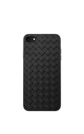 Чехол Devia Woven Pattern Design Soft Case iPhone SE2, черный
