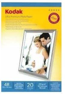 Kodak Photo Paper 4R 270g 20 Sh