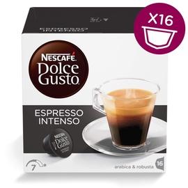 Kavos kapsulės NESCAFÉ® Dolce Gusto® Espresso Intenso 16 vnt