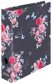 Herlitz Lever Arch File A4 Ladylike Flowers