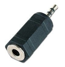 Roger 3.5mm To 2.5mm Audio Adapter Black