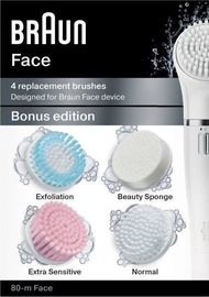 Braun Face Replacement Brushes 4pcs