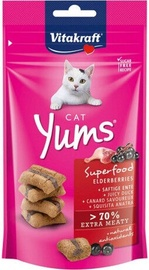 Vitacraft Cat Yums 40g With Duck And Elderberries