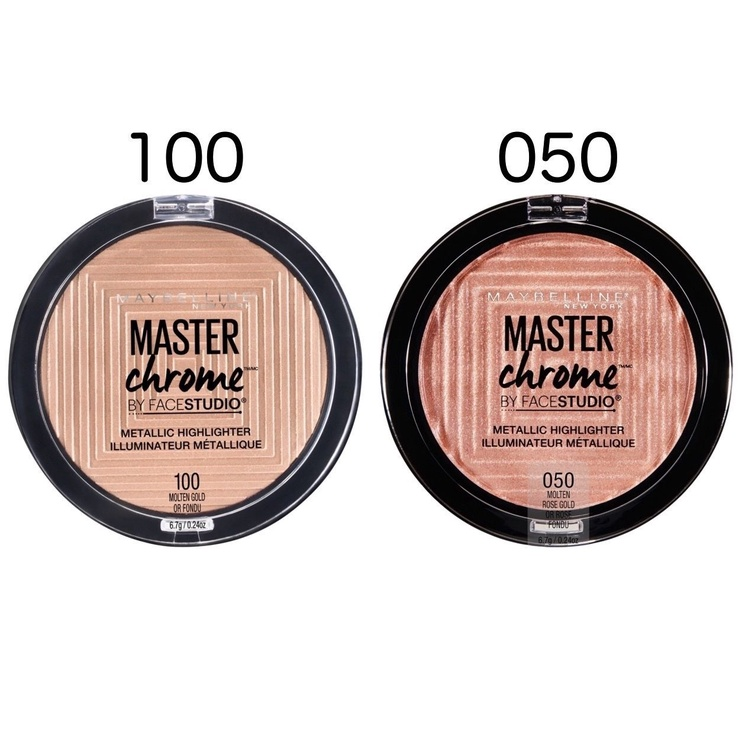 Maybelline New York Master Chrome Metallic 6.7g 100