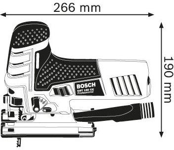 Bosch GST 150 CE Jigsaw