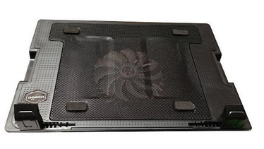 "Omega Anakin Laptop Stand Cooler Pad 9""-17"" Black"