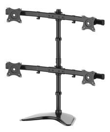 "Televizoriaus laikiklis Multibrackets Quad Deskmount 15-27"" Black"