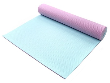 Meteor Yoga Mat 173 x 61 x 0.5cm Pink Mint