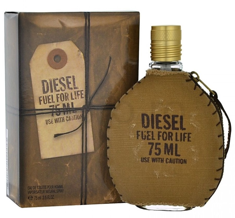 Tualetes ūdens Diesel Fuel For Life 75ml EDT