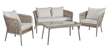 Home4you Ecco Garden Furniture Set Beige