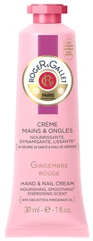 Rankų kremas Roger & Gallet Gingembre Rouge Hand & Nail, 30 ml