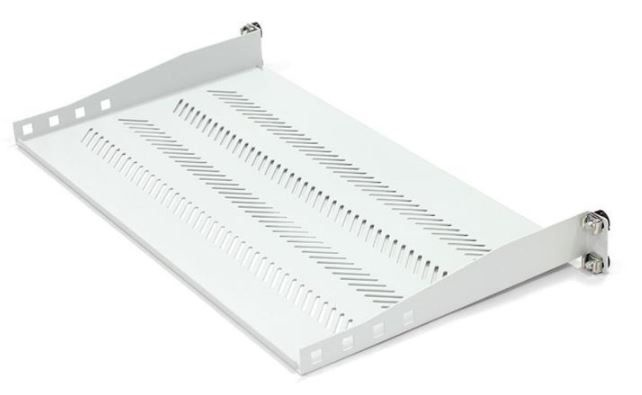 Riiul Digitus Equipment Shelf 19'' 1U /250mm Grey
