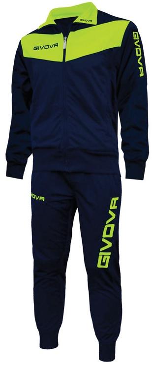 Спортивный костюм Givova Visa Fluo Navy Yellow XS