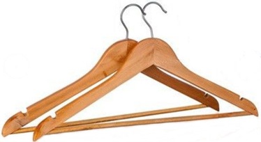 Brilanz Wooden Hanger Set 2pcs