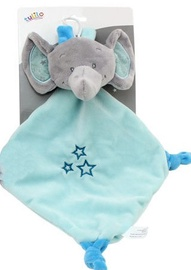 Axiom Cuddly Toy With Rattle Milus Elephant Mint 19x19cm