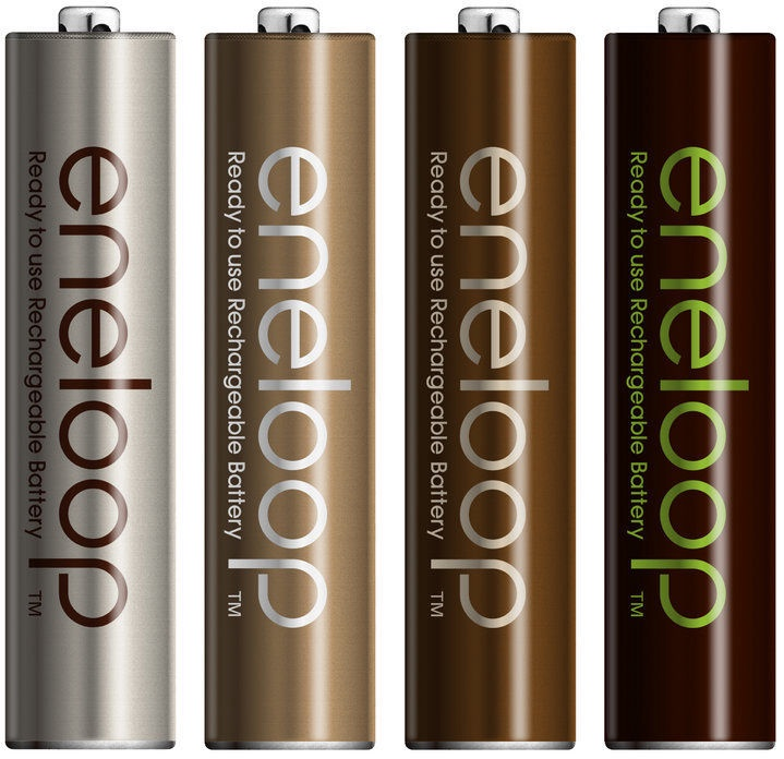 Panasonic Eneloop Earth Rechargeable Batteries 8 x AAA 750mAh