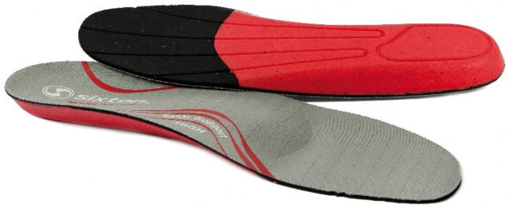 Sixton Peak Modularfit Insole Grey/Red 46