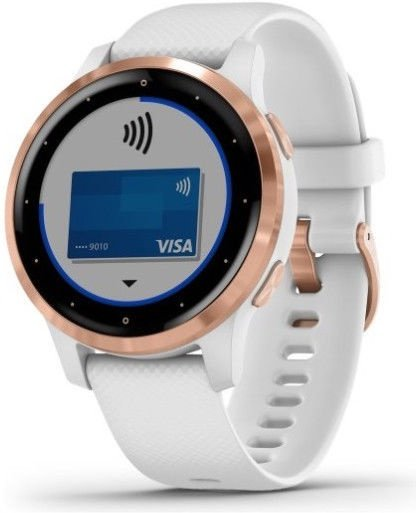 Garmin Vivoactive 4S 40mm White/Gold