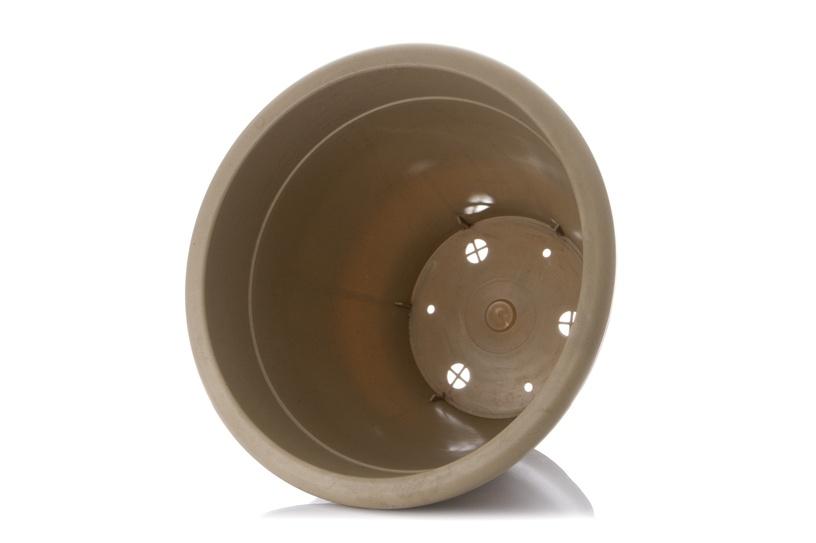 Вазон PlastiCotto Compana Plastic Flower Pot 47x37cm Beige