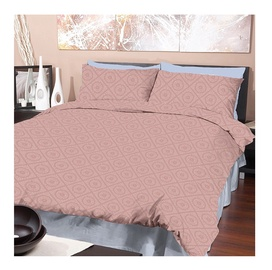 Voodipesukomplekt, 140x200 cm, roosa