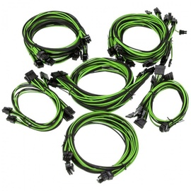 Super Flower Sleeve Cable Kit Pro Black/Green
