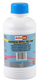 Activejet Ink Cartridge Refill URB-250C Cyan