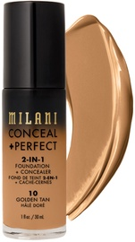 Тонирующий крем Milani Conceal + Perfect 10 Golden Tan, 30 мл