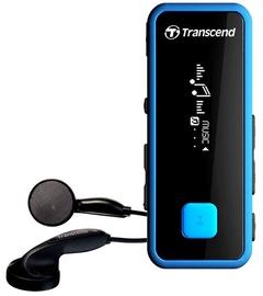 Музыкальный проигрыватель Transcend MP350, синий, 8 ГБ