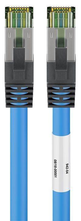Goobay CAT 8.1 S/FTP PiMF Patch Cable 1m Blue