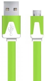 Esperanza Cable USB / USB-micro Green 1m