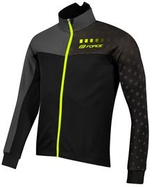 Force X110 Winter Jacket Unisex Black/Gray XXL