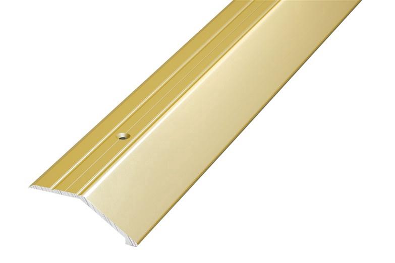 Parketa stūris Grace Parquet Nosing C3 2.7m Gold