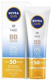 Kremas nuo saulės Nivea Sun UV Face BB Cream SPF50, 50 ml